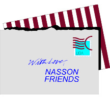 Letter: With love, Nasson Friends